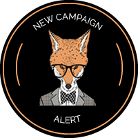 Sly Fox New Campaign Alert Badge